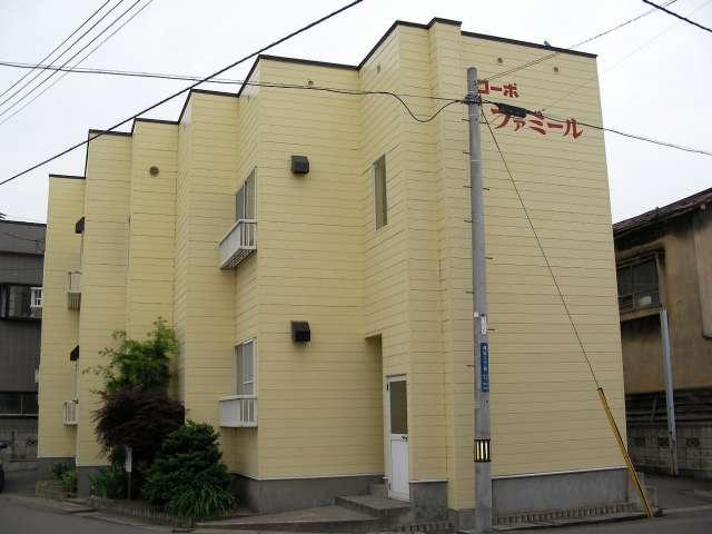 アパート 青森市篠田2-12-8 コーポファミール 1DK