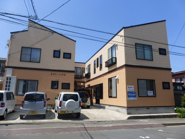 アパート 弘前市楮町5-15 エイトハイツM 1K