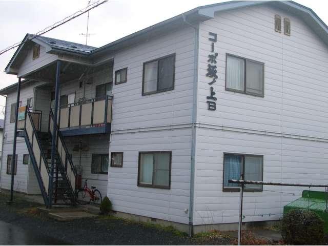 アパート 青森県 八戸市 大久保字坂ノ上 コーポ坂ノ上 3DK