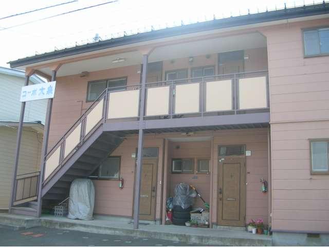 アパート 青森県 八戸市 南類家1丁目 コーポ大泉 2K