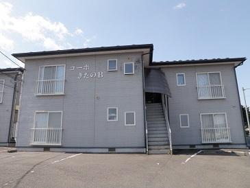 アパート 岩手県 奥州市 水沢桜屋敷 コーポきたのC 1LDK