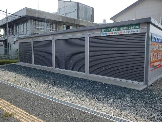 駐車場 岩手県 奥州市 江刺区大通り 江刺大通りガレージ