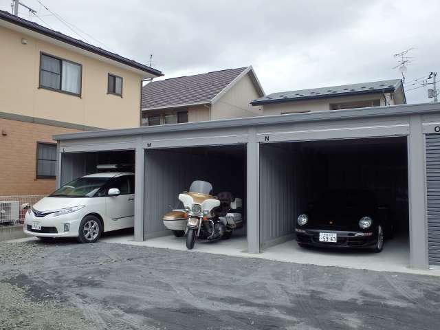 駐車場 岩手県 奥州市 江刺区愛宕字宿 宿ガレージ
