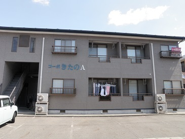 アパート 岩手県 奥州市 水沢桜屋敷 コーポ・きたのA 3DK
