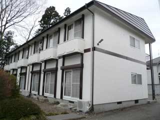 アパート 岩手県 奥州市 水沢区福原 後藤アパート2号棟 1K