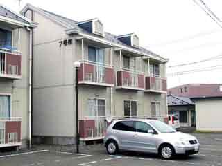 アパート 岩手県 奥州市 水沢区北田 後藤アパート7号棟 1K