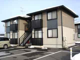 アパート 岩手県 胆沢郡金ケ崎町 西根一ツ屋17-1 グリーンフィールド8号棟 1R