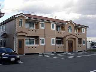 アパート 岩手県 胆沢郡金ケ崎町 西根西地蔵野 ラ・ヴィータB 2K