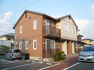 アパート 岩手県 奥州市 水沢区谷地明円 ブランシェT 2K