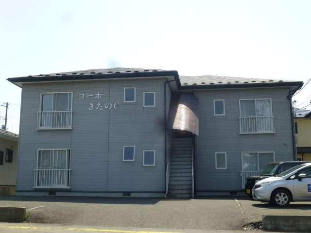 アパート 岩手県 奥州市 水沢区桜屋敷 コーポきたのC棟 2K