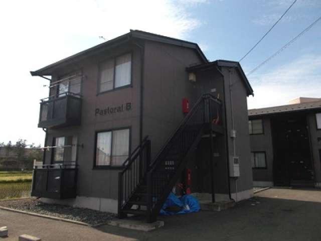 アパート 岩手県 胆沢郡金ケ崎町 西根鑓水 パストラルB 1LDK
