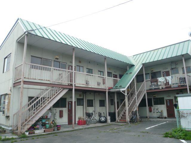 アパート 岩手県 奥州市 江刺区八日町一丁目 グリーンハイツ1 3DK