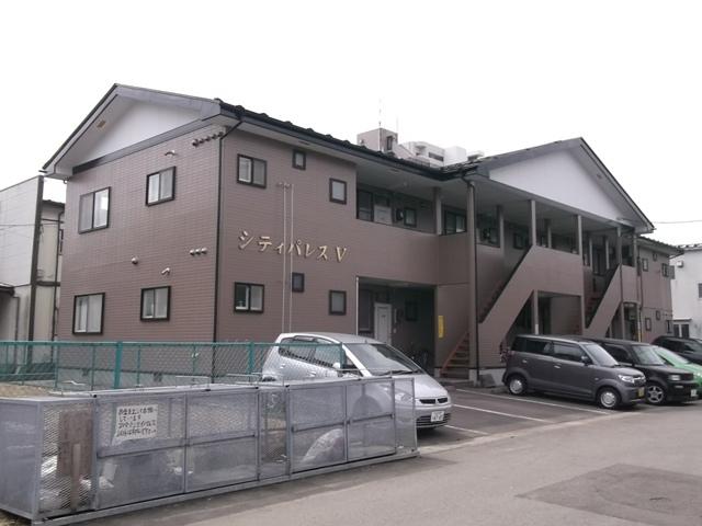 アパート 秋田県 秋田市 広面字糠塚 シティパレスV 1K