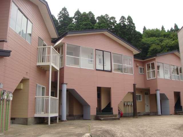アパート 秋田県 男鹿市 船川港比詰字餅ヶ沢 クリーンズハウス2号棟 2DK