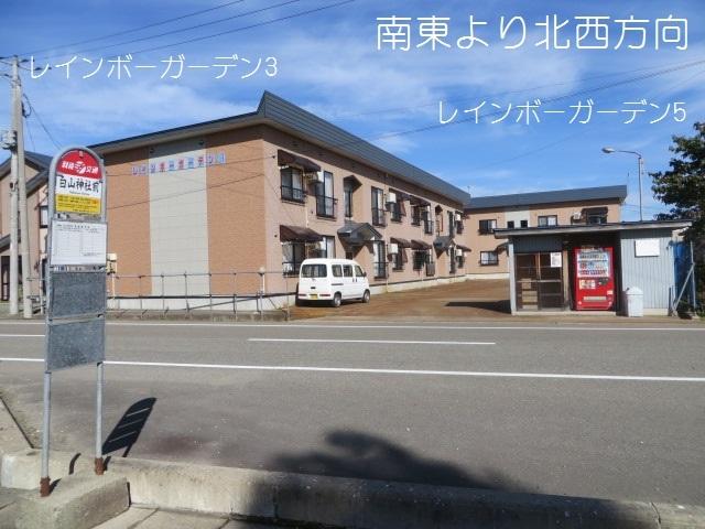 アパート 秋田県 湯沢市 山田字中屋敷 レインボーガーデン3ー 2LDK