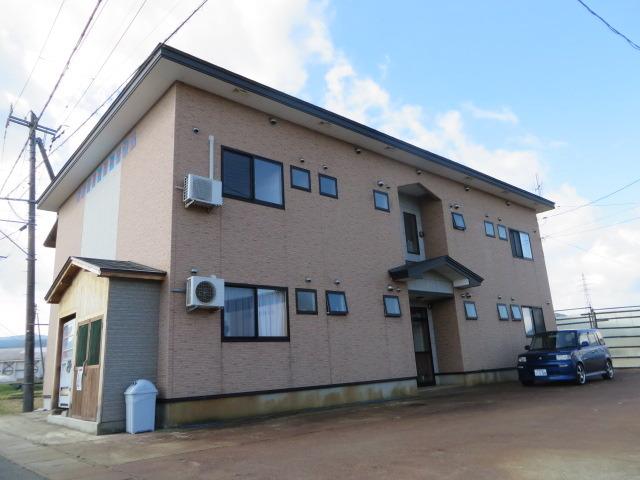 アパート 秋田県 湯沢市 深堀字門ノ目 レインボーガーデン2ー 2LDK
