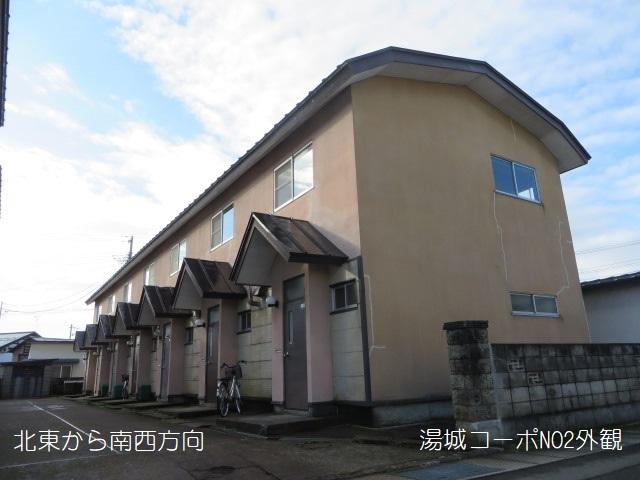 アパート 秋田県 湯沢市 西新町 湯城コーポNO2 2DK