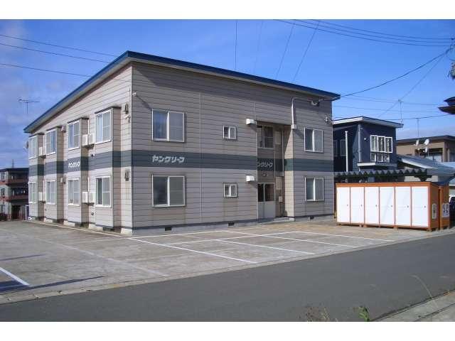 アパート 秋田県 湯沢市 若葉町 ヤングリーフ 1K