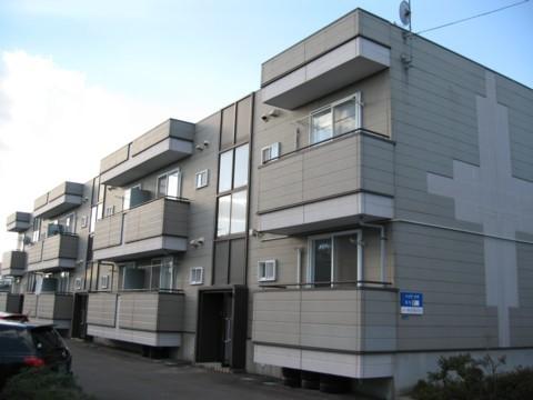 アパート 秋田県 秋田市 桜1丁目 ハイツゴウ 1LDK