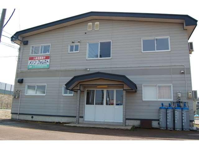 アパート 秋田県 湯沢市 岩崎字上宿 メゾンフォレスト 1DK