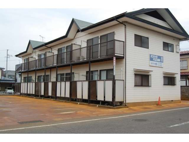 アパート 秋田県 湯沢市 元清水 サンハイツユザワⅡ 2K