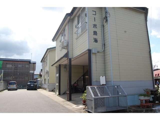 アパート 秋田県 湯沢市 中野 コーポ鳥海 2DK
