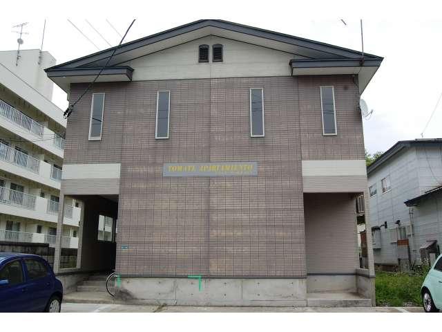 アパート 秋田県 湯沢市 若葉町 トマーテアパルタメント 1LDK