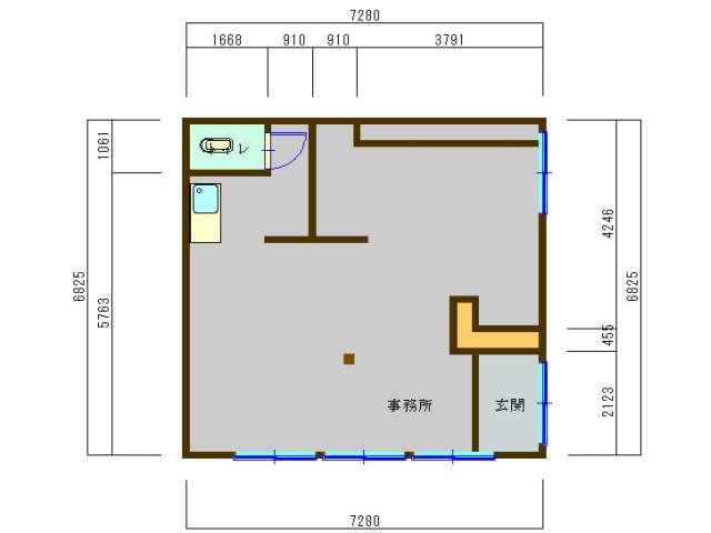 事務所 秋田県 湯沢市 愛宕町 愛宕事務所・倉庫
