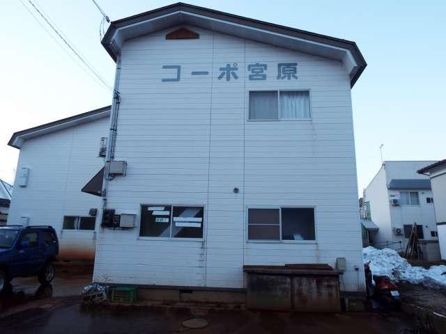 アパート 秋田県 湯沢市 中野 コーポ宮原 1LDK