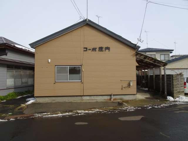 アパート 秋田県 能代市 向能代字上野 コーポ庄内 2DK