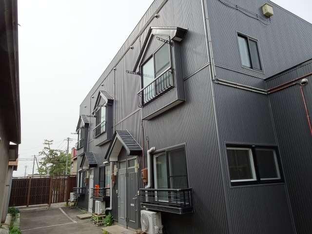 アパート 秋田県 能代市 西通町 ハイムウエストリート 2DK
