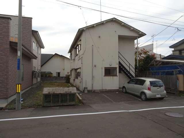 アパート 秋田県 能代市 若松町 朝日荘 2K