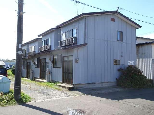 アパート 秋田県 能代市 鳥小屋 若狭アパート 3K