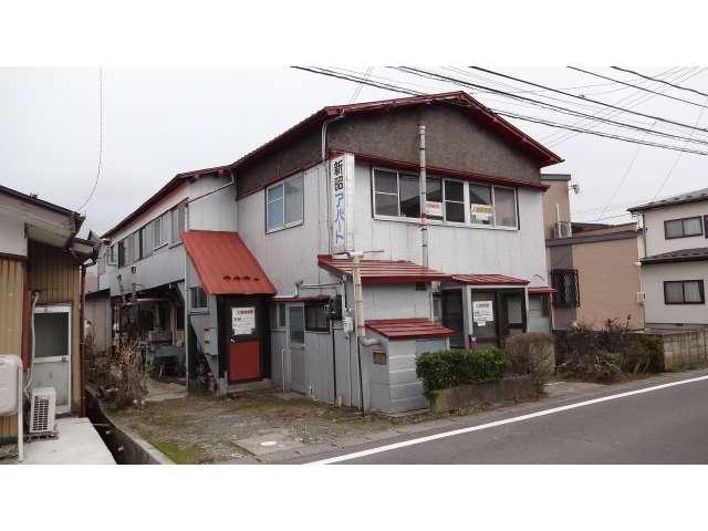 アパート 秋田県 由利本荘市 中梵天117-4 新昭アパート 1K