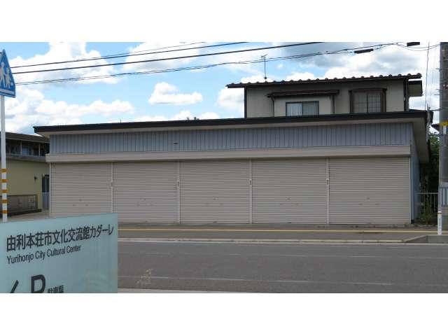 駐車場 秋田県 由利本荘市 桜小路28-1 桜小路貸ガレージ
