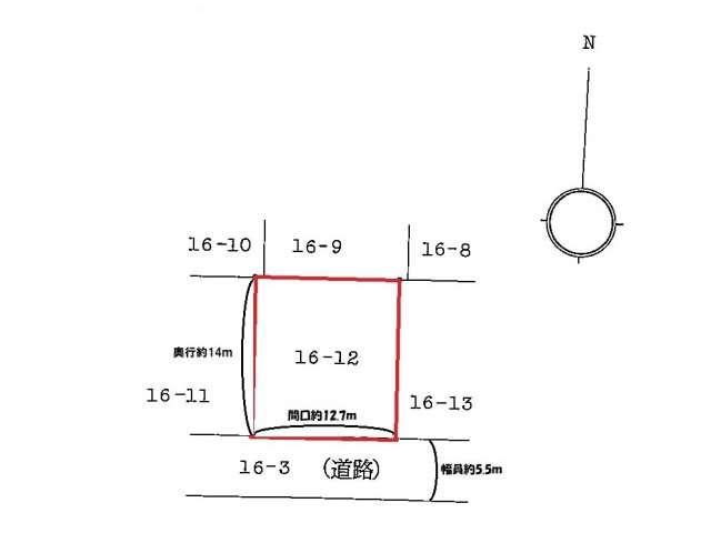 売地 青森県 青森市 浪館字志田