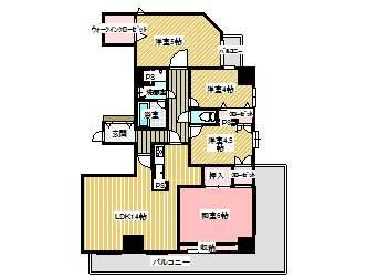 マンション(分譲) 青森県 青森市 本町三丁目 ダイヤパレスシーサイド本町 4LDK