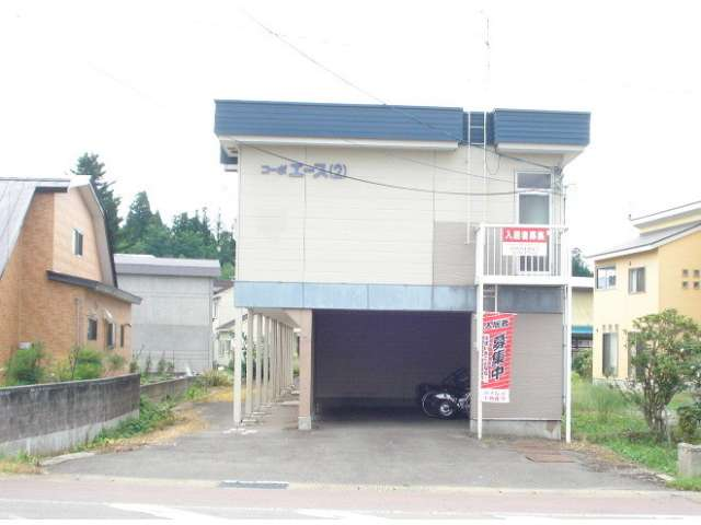 アパート 青森市横内亀井268ー4 コーポエースⅡ 1K