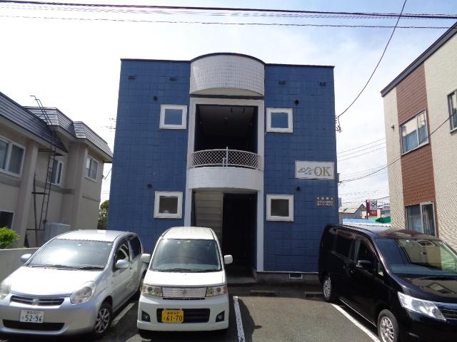 アパート 青森市筒井字八ッ橋1407ー6 メゾンOK 1K