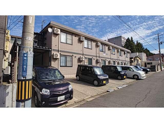 アパート 青森県 青森市 幸畑2丁目 シティハイム・サンセール 1K