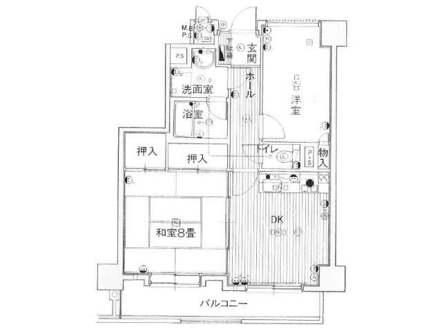 マンション 青森県 青森市 安方2丁目 パークハイツ安方第2 2DK