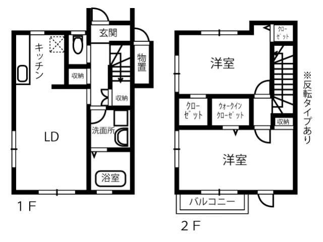 アパート 青森県 八戸市 八太郎三丁目 ルーチェC 2LDK