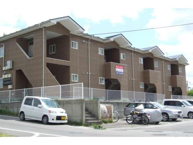 アパート 青森県 三戸郡階上町 蒼前西五丁目 ラッキーハウス 1K