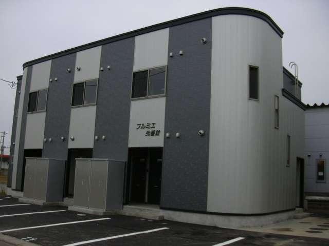 アパート 青森県 つがる市 柏上古川八重崎 プルミエ壱番館 1R
