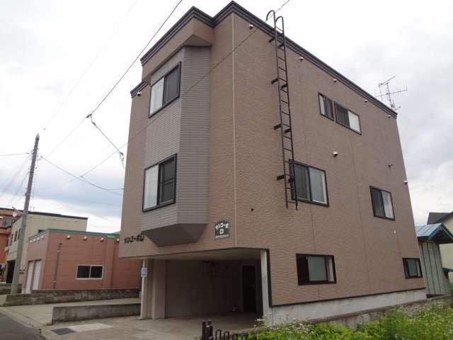 アパート 青森県 青森市 油川大浜133-2 サンコーポD 2LDK