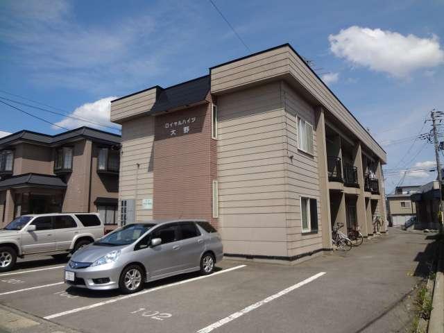アパート 青森県 青森市 大野字鳴滝88-9 ロイヤルハイツ大野 2LDK