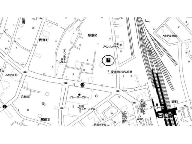 倉庫 青森県 弘前市 駅前2丁目8-3 パレドゥ倉庫