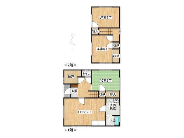 戸建 弘前市清原2丁目「ハウス千葉」A号室 メイン画像