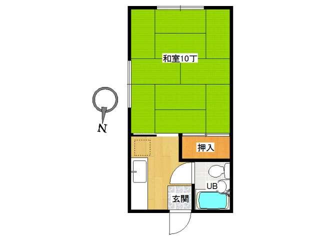 アパート 弘前市城東中央4丁目「コーポ高光」102号室 メイン画像