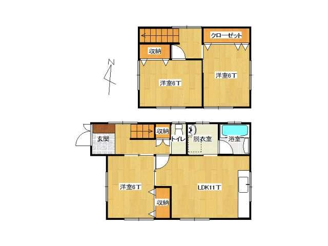 戸建 弘前市末広4丁目「須藤住宅」A号室 メイン画像